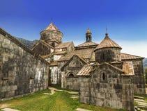 Средневековый армянский монастырь Haghpat, столетие 10 стоковые изображения