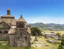 Средневековый армянский монастырь Haghpat, столетие 10 стоковые фото