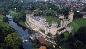 Средневековый великобританский замок стоковые изображения rf