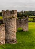 Средневековый замок отделки, Ирландия Стоковое фото RF