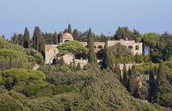 Средневековый замок Стоковое Фото