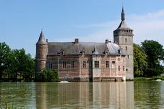 Средневековый замок Horst, Бельгия Стоковые Изображения RF