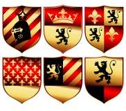 средневековый комплект Стоковые Изображения RF