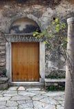 средневековый портал стоковые фотографии rf