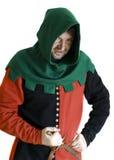 средневековый разбойник Стоковая Фотография RF