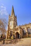 Средневековый собор в Wakefield, Великобритании Стоковые Изображения