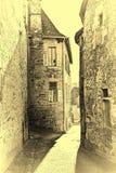 Средневековый французский город стоковые фотографии rf