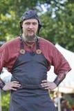 Средневековый человек Стоковое Изображение RF