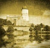 Средневековый шведский замок Стоковая Фотография