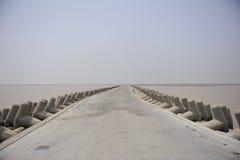 среднее море дороги Стоковое Изображение RF