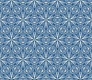 Среднеземноморская безшовная картина вектора Стоковое Изображение RF