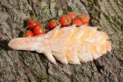 Среднеземноморская диета для здоровья Стоковые Фотографии RF