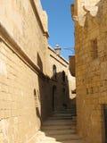 среднеземноморская старая улица Стоковая Фотография