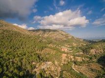 Среднеземноморская страна Испания стоковая фотография rf