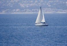 среднеземноморское море sailing стоковое фото