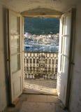 среднеземноморское село Стоковое Фото