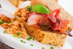 среднеземноморское хлеба домодельное Стоковая Фотография RF