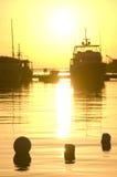среднеземноморской восход солнца стоковое фото