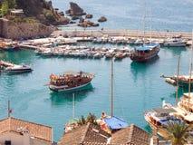 Среднеземноморской залив в Турции стоковые фотографии rf