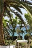 Среднеземноморской сад стоковые изображения rf