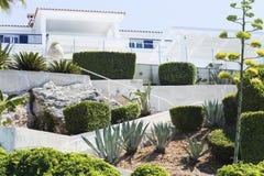 Среднеземноморской сад стоковые изображения