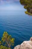 Среднеземноморской свободный полет Стоковые Фото