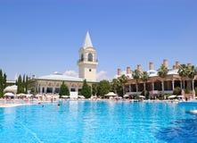 среднеземноморской turkish курорта Стоковые Изображения RF