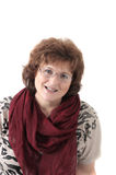 средние леты женщины портрета Стоковая Фотография