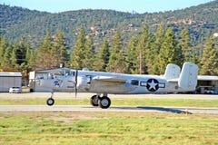 Средний бомбардировщик B-25 Стоковое Изображение