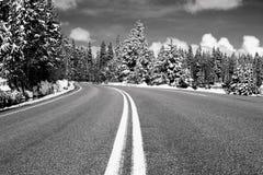 средняя дорога Стоковая Фотография