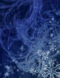средняя зима шторма Стоковое Изображение