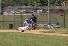 средняя школа бейсбола Стоковые Фотографии RF