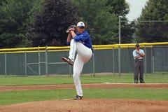 средняя школа бейсбола Стоковое фото RF