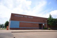 Средняя школа Covington Теннесси, Covington Теннесси Стоковое Изображение RF