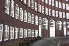 Средняя школа Emil Krause - II - Гамбург - Германия стоковая фотография rf
