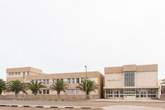Средняя школа Namib в Swakopmund Стоковое Изображение RF