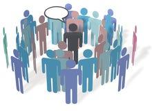 средства коммуникации встречая social людей бесплатная иллюстрация