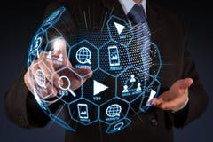 Средства массовой информации маркетинга цифров (объявление вебсайта, электронная почта, социальная сеть, SEO, стоковое фото