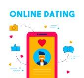 Средства массовой информации онлайн датировка социальные датируют дизайн концепции app бесплатная иллюстрация