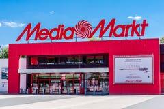 Средства массовой информации Markt Байройт Германия стоковые изображения rf