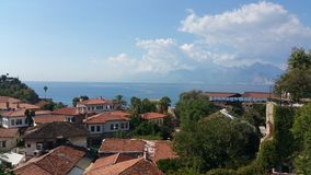 Средиземное море Антальи стоковая фотография rf