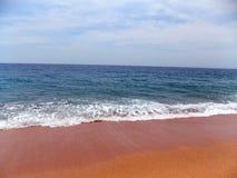 Средиземное море в Испании Стоковое Изображение