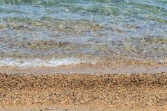 Средиземное море в Корфу Стоковые Фото