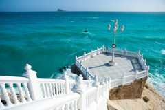 Средиземное море del Mediterraneo balcon Benidorm Стоковая Фотография RF