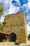 Средневековая башня в старой части Evpatoria Стоковые Изображения