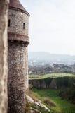 Средневековая башня castel Стоковая Фотография