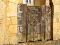 Средневековая дверь Стоковая Фотография RF