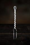 Средневековая вилка Стоковое Фото