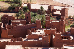 Средневековая деревня в Марокко Стоковое Изображение RF