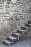 Средневековая лестница стоковое фото rf